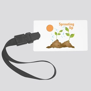 Sprouting Up Luggage Tag