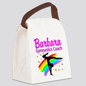 GYMNAST COACH Canvas Lunch Bag