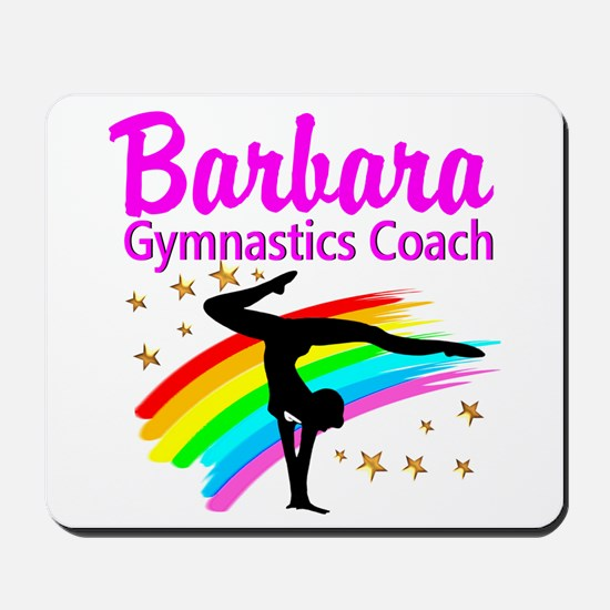 GYMNAST COACH Mousepad
