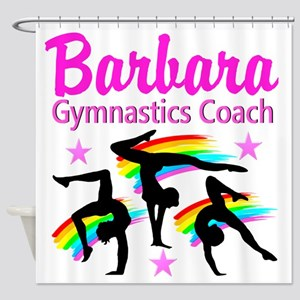 GYMNAST COACH Shower Curtain