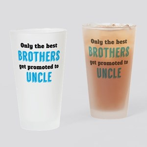 Promoted To Uncle Drinking Glass