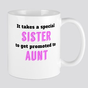 Promoted To Aunt Mugs