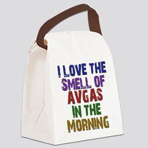 Love the Smell of AvGas Canvas Lunch Bag