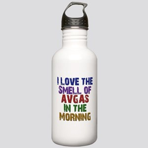 Love the Smell of AvGas Water Bottle