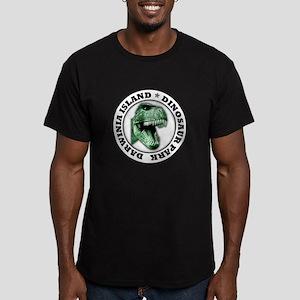 Dinosaur Park Men's Fitted T-Shirt (dark)