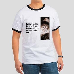 """Whitman """"As Bad As"""" Ringer T"""