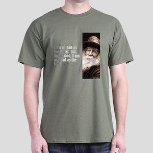 "Whitman ""As Bad As"" Dark T-Shirt"