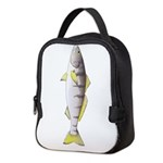White Seabass Neoprene Lunch Bag