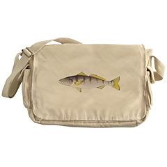 White Seabass Messenger Bag