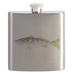 White Seabass Flask