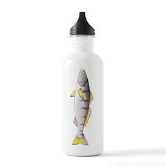 White Seabass Water Bottle