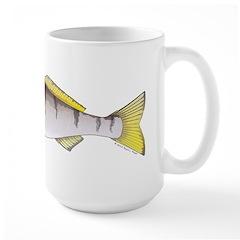 White Seabass Mugs
