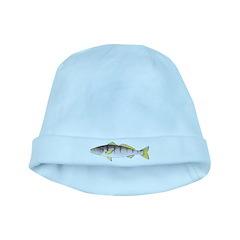 White Seabass baby hat