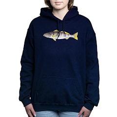 White Seabass Women's Hooded Sweatshirt