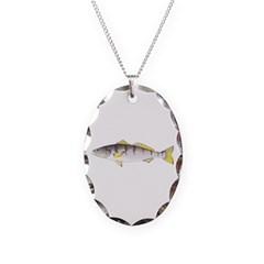 White Seabass Necklace