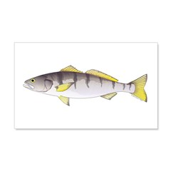 White Seabass Wall Decal