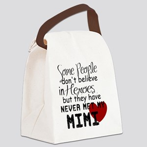 Mimi Heroe Canvas Lunch Bag