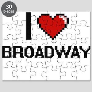 I love Broadway digital design Puzzle