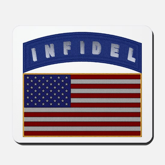 American Infidel Patch Mousepad