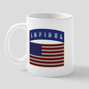 American Infidel Patch Mug