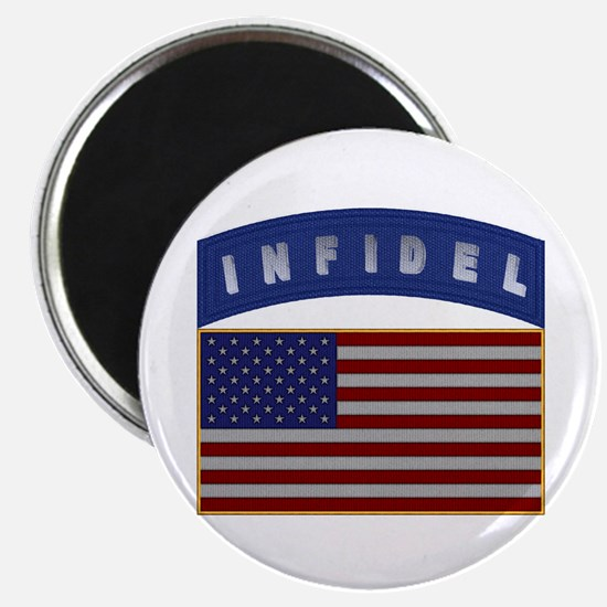 "American Infidel Patch 2.25"" Magnet (10 pack)"