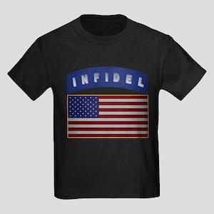American Infidel Patch Kids Dark T-Shirt