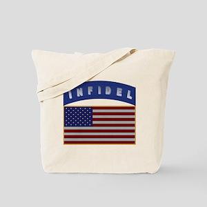 American Infidel Patch Tote Bag