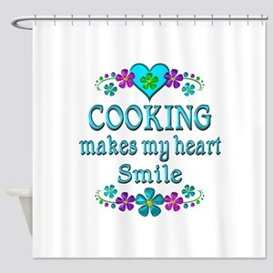 Cooking Smiles Shower Curtain