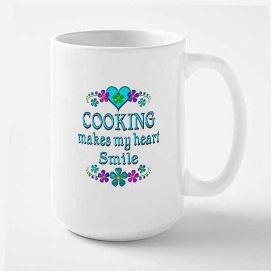 Cooking Smiles Large Mug