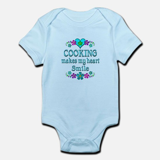 Cooking Smiles Infant Bodysuit