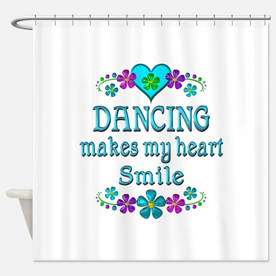 Dancing Smiles Shower Curtain