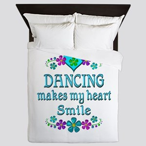 Dancing Smiles Queen Duvet