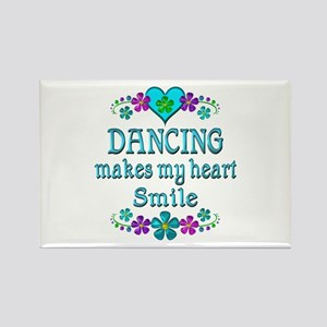 Dancing Smiles Rectangle Magnet