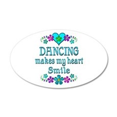 Dancing Smiles Wall Decal