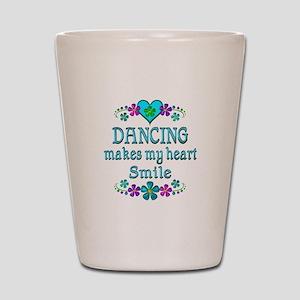 Dancing Smiles Shot Glass