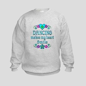 Dancing Smiles Kids Sweatshirt