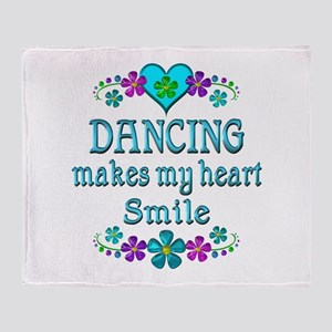 Dancing Smiles Throw Blanket