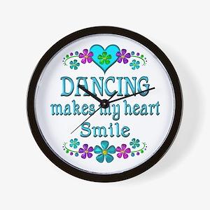 Dancing Smiles Wall Clock
