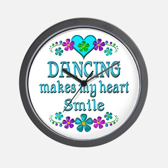 Dancing Smiles Wall Clock