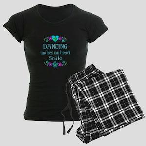 Dancing Smiles Women's Dark Pajamas