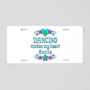 Dancing Smiles Aluminum License Plate