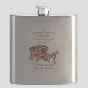 GYPSY PROVERB Flask