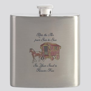 GYPSY SOUL FOREVER FREE Flask