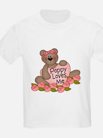 Poppy Loves Me CUTE Bear T-Shirt