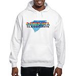 Carolina Classic Hits - White Hoodie Sweatshirt