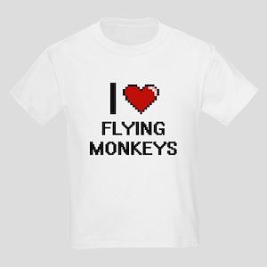 I love Flying Monkeys digital design T-Shirt