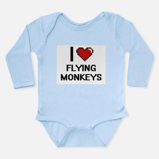 I love Flying Monkeys digital design Body Suit