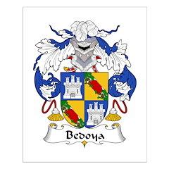 Bedoya Family Crest Posters
