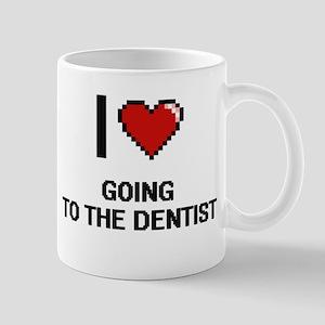 I love Going To The Dentist digital design Mugs