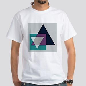 geodesic triangle square T-Shirt